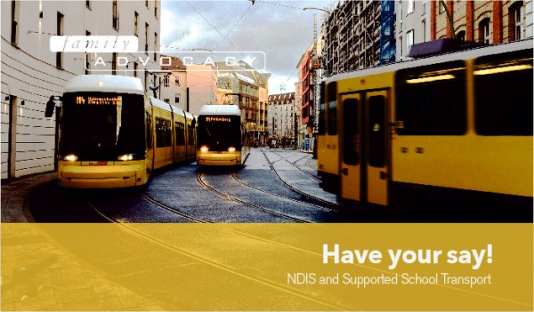 NDIS and Supported School Transport Have your say!